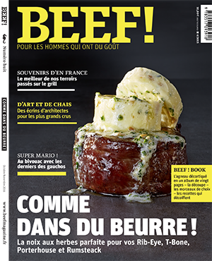 Beef Magazine Couverture